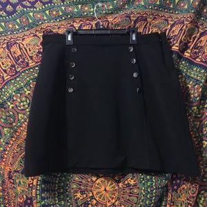 Super Cute Forever 21 Plus Black Skirt